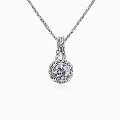 Shimmering white gold pendant woman Pendants Royal