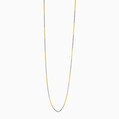 Yellow & white gold chain unisex chains