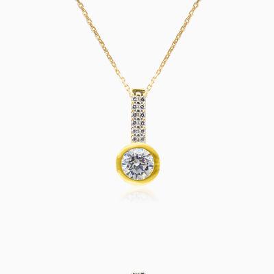 Fantasía yellow gold pendant Женские Подвески Lustrous