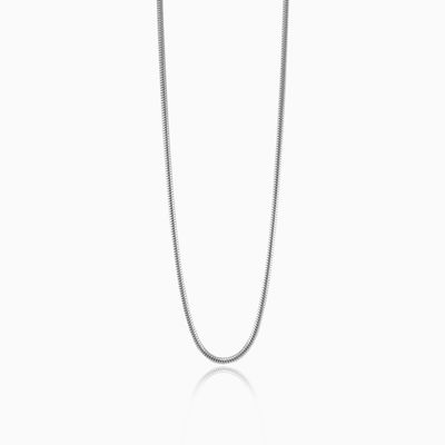 Silver snake chain unisex chains Harmony