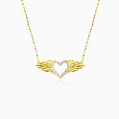Flying heart necklace woman Necklaces Lovely