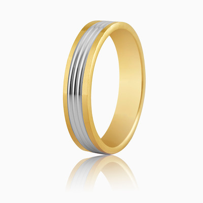 WEDDING RING 5250404 unisex Wedding rings Argyor