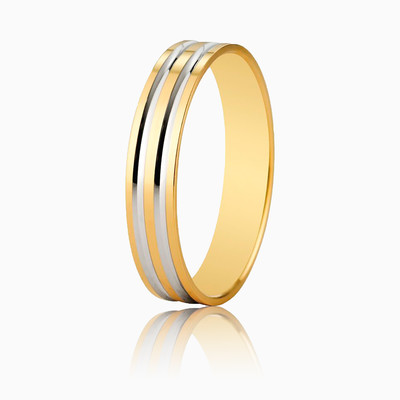 WEDDING RING 5140210R unisex wedding rings Argyor