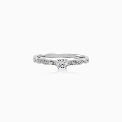 Diamond engagement ring woman engagement rings MC Diamonds