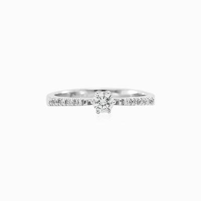 Золотое кольцо с бриллиантами Женские Помолвочные кольца MC Diamonds