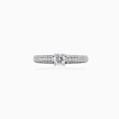 Magnificent engagement ring woman engagement rings MC Diamonds