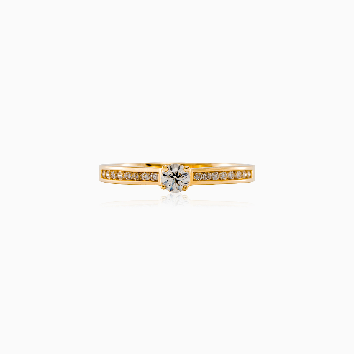 faeiry diamond rings fairy engagement ring branch champagne lunessa products