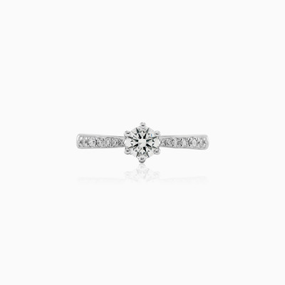 Pure love engagement ring woman Engagement rings Lustrous