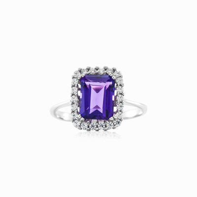 Misterio amethyst ring woman engagement rings MC Gold