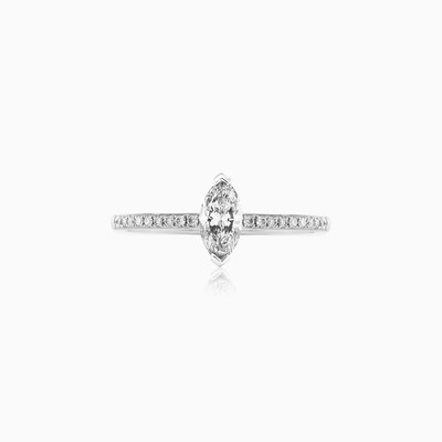 Marquise-cut Diamond engagement ring woman engagement rings MC Diamonds