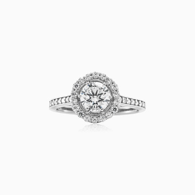 Triomphe engagement ring woman engagement rings