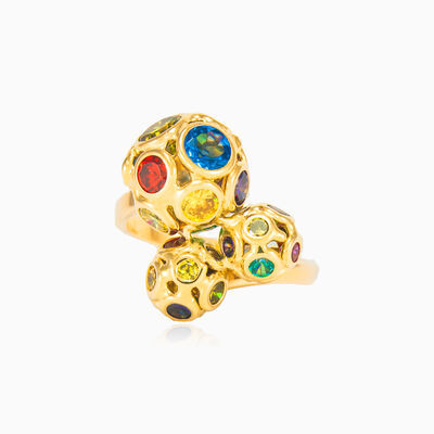 Mosaico beads ring woman rings Mosaico