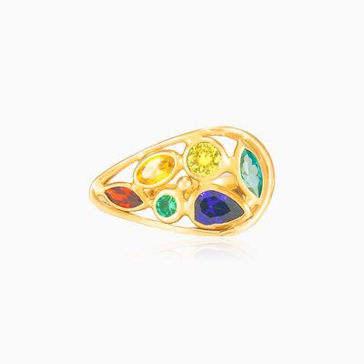 Mosaico droplet ring woman Rings Mosaico