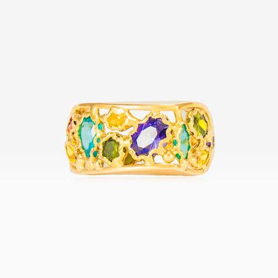 Mosaico baroque ring woman Rings Mosaico