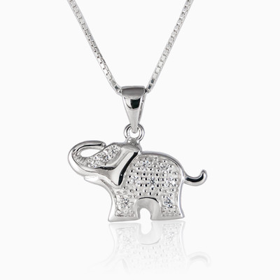 Lucky elephant unisex necklaces NT