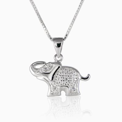 Lucky elephant unisex Pendants Animale