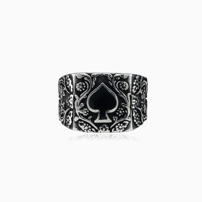 Spades ring unisex Rings Simbólico