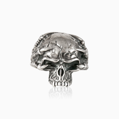 Gothic skull ring man rings NT