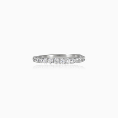 Shared prong ring woman Rings Shine bright