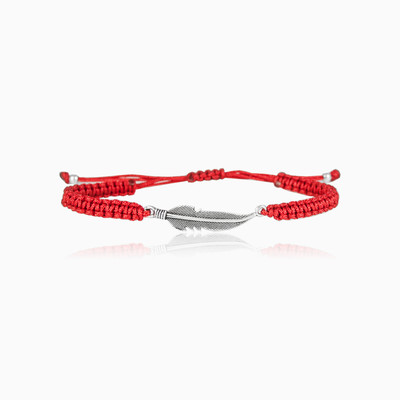 Red Feather Bracelet man bracelets NT