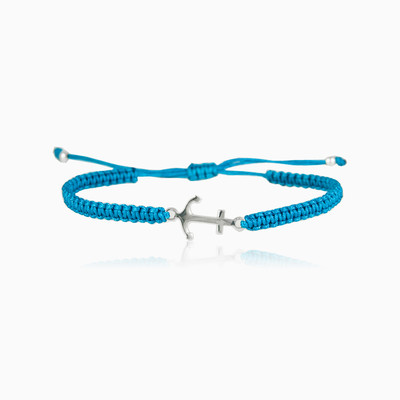 Blue Anchor bracelet man bracelets NT