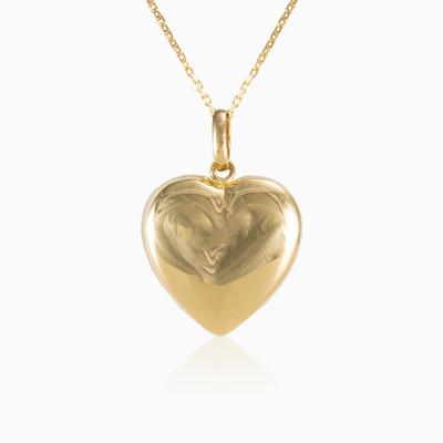 Plain heart pendant woman Pendants Lovely